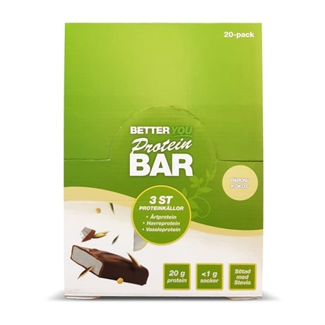Better You Protein Bar 20-pack