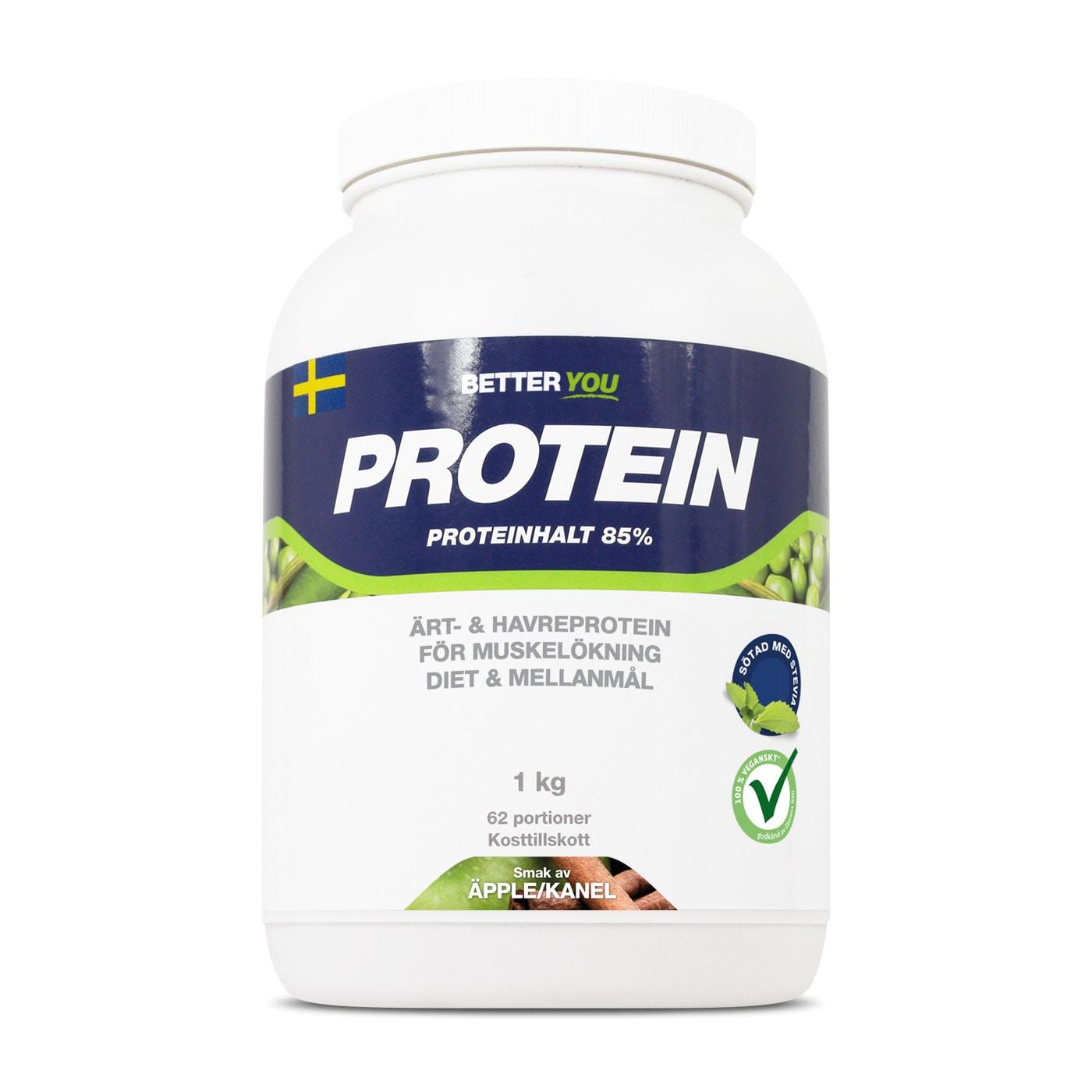 Ärt- och havreprotein