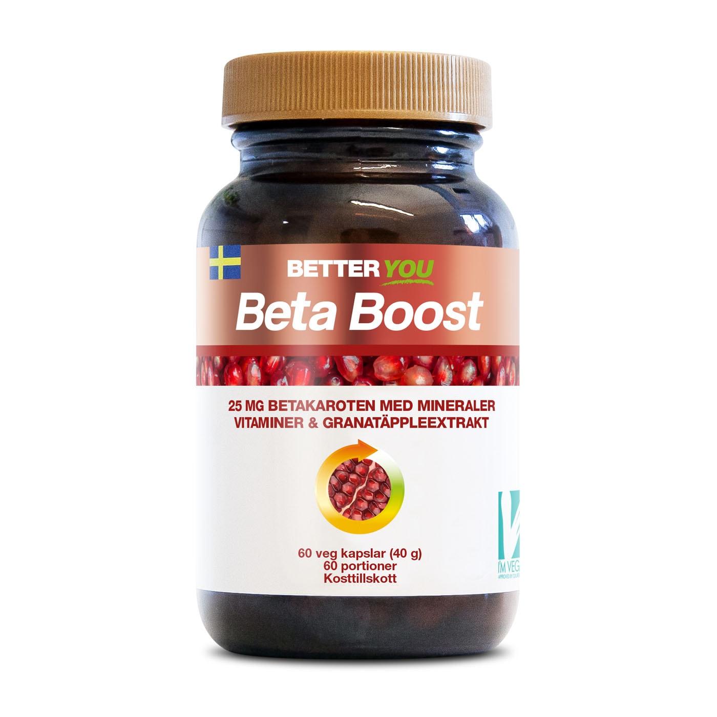 Beta Boost - 60 kaps