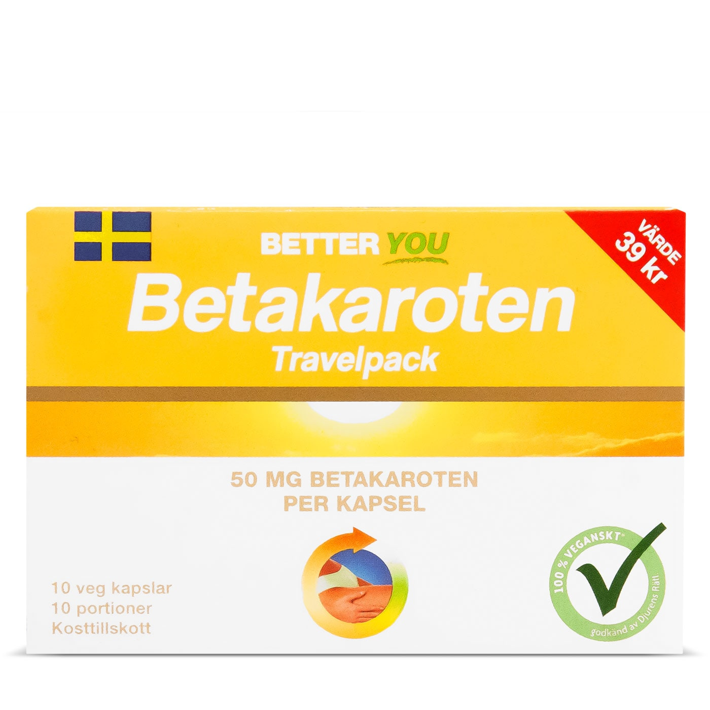 Betakaroten 50 mg - Travelpack