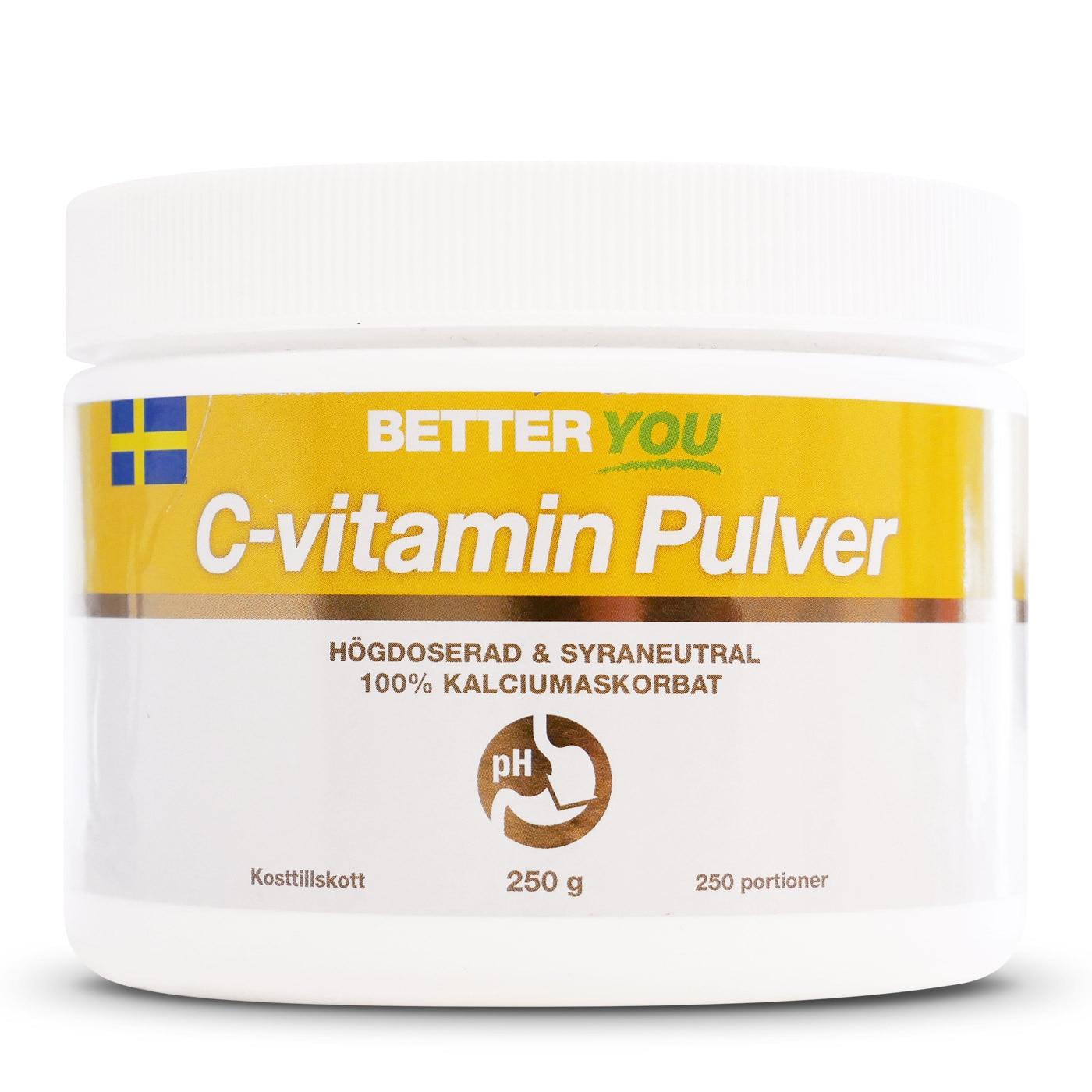 C-vitamin Pulver - 250 g