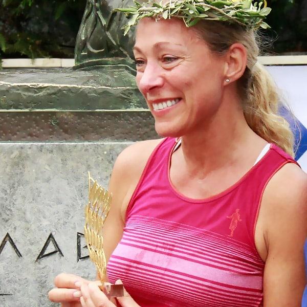 Diana Kämpe om 25 mils loppet Spartathlon