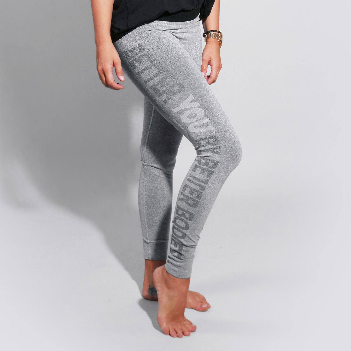 BY BB Tights Grey Melange