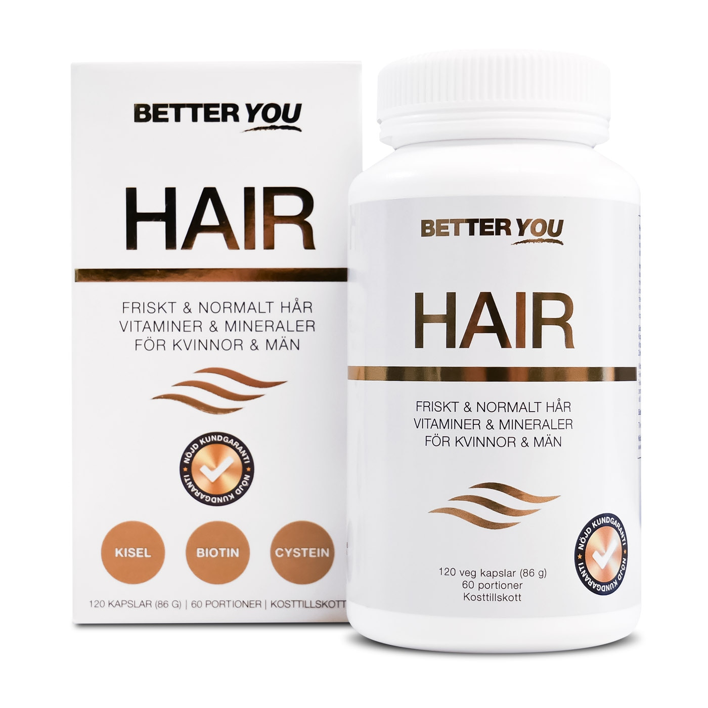 Better You Hair - 120 kaps