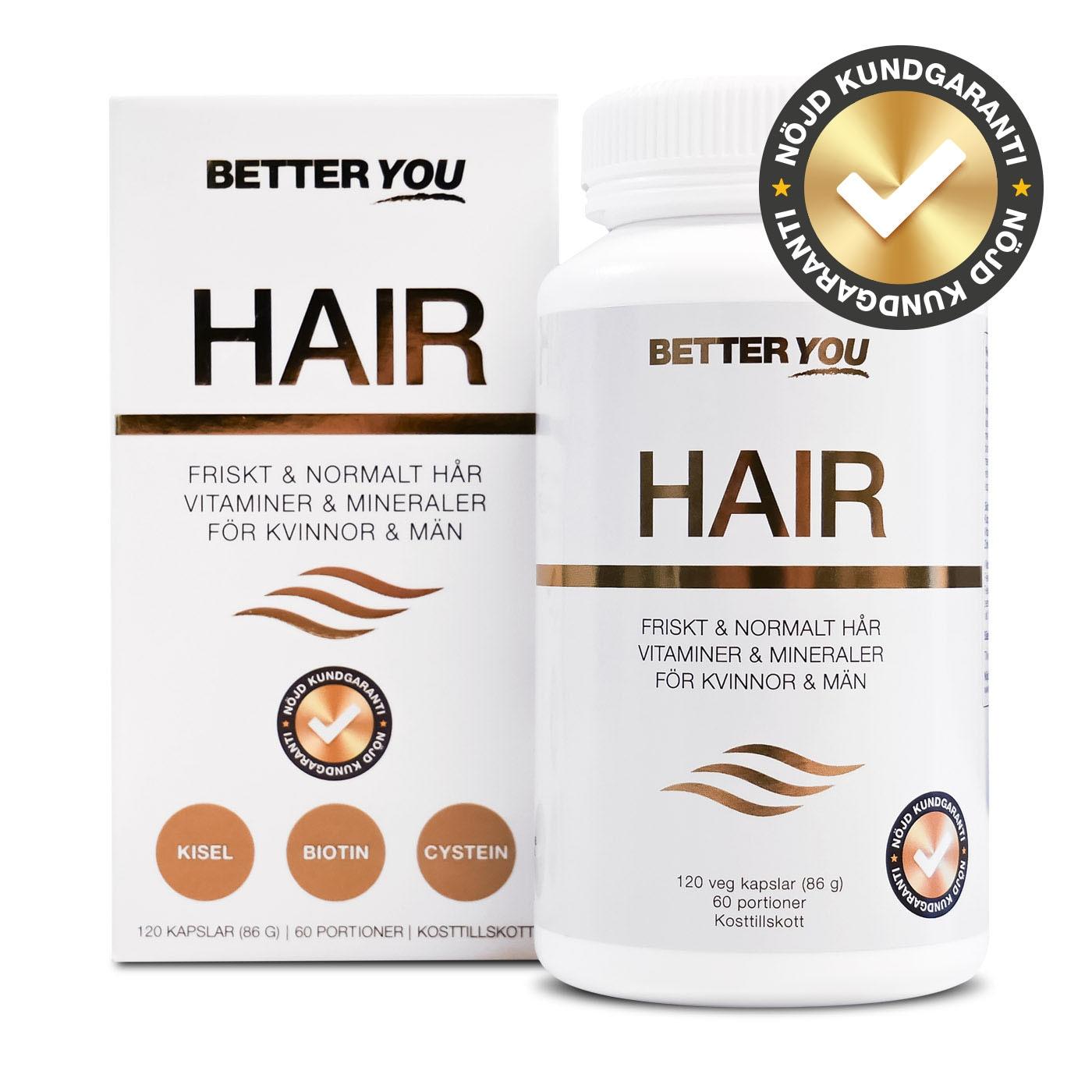 Better You Hair - 120 kaps