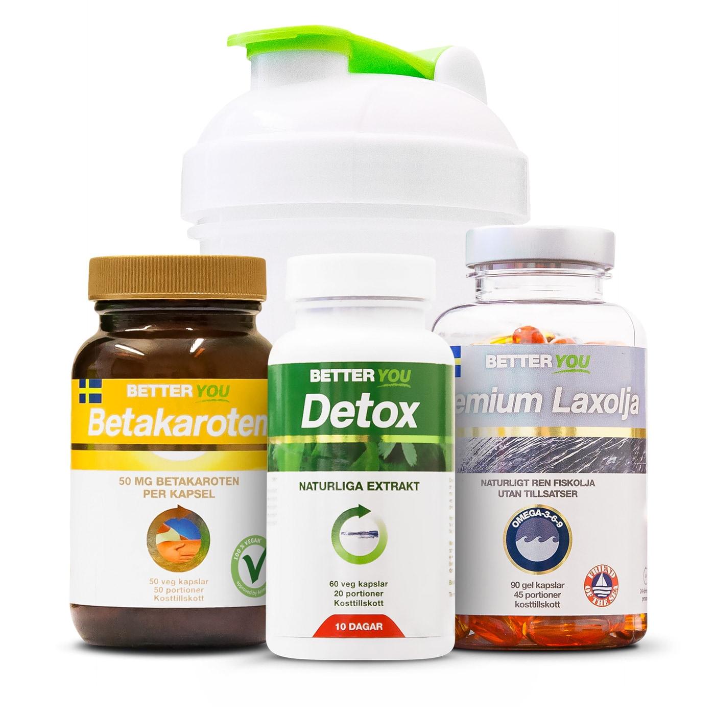 Hud- & Detox paket