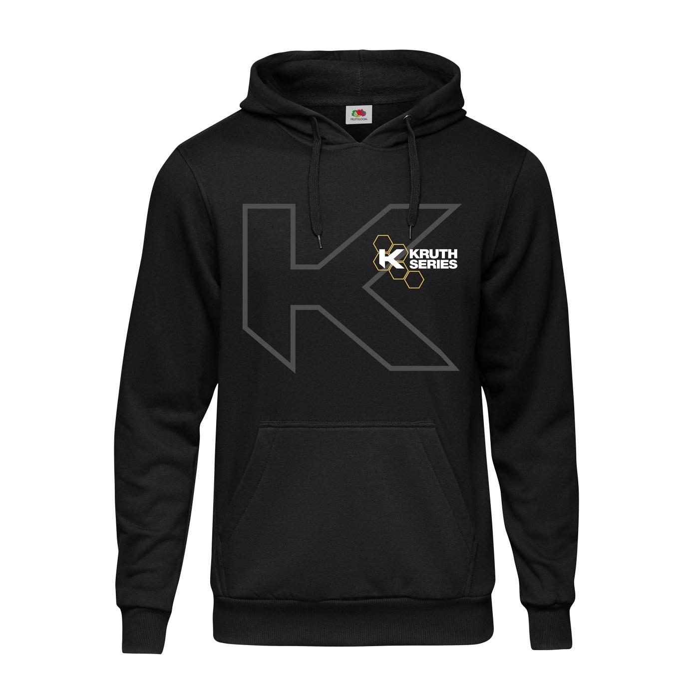 Kruth Series Hoodie Svart - Unisex