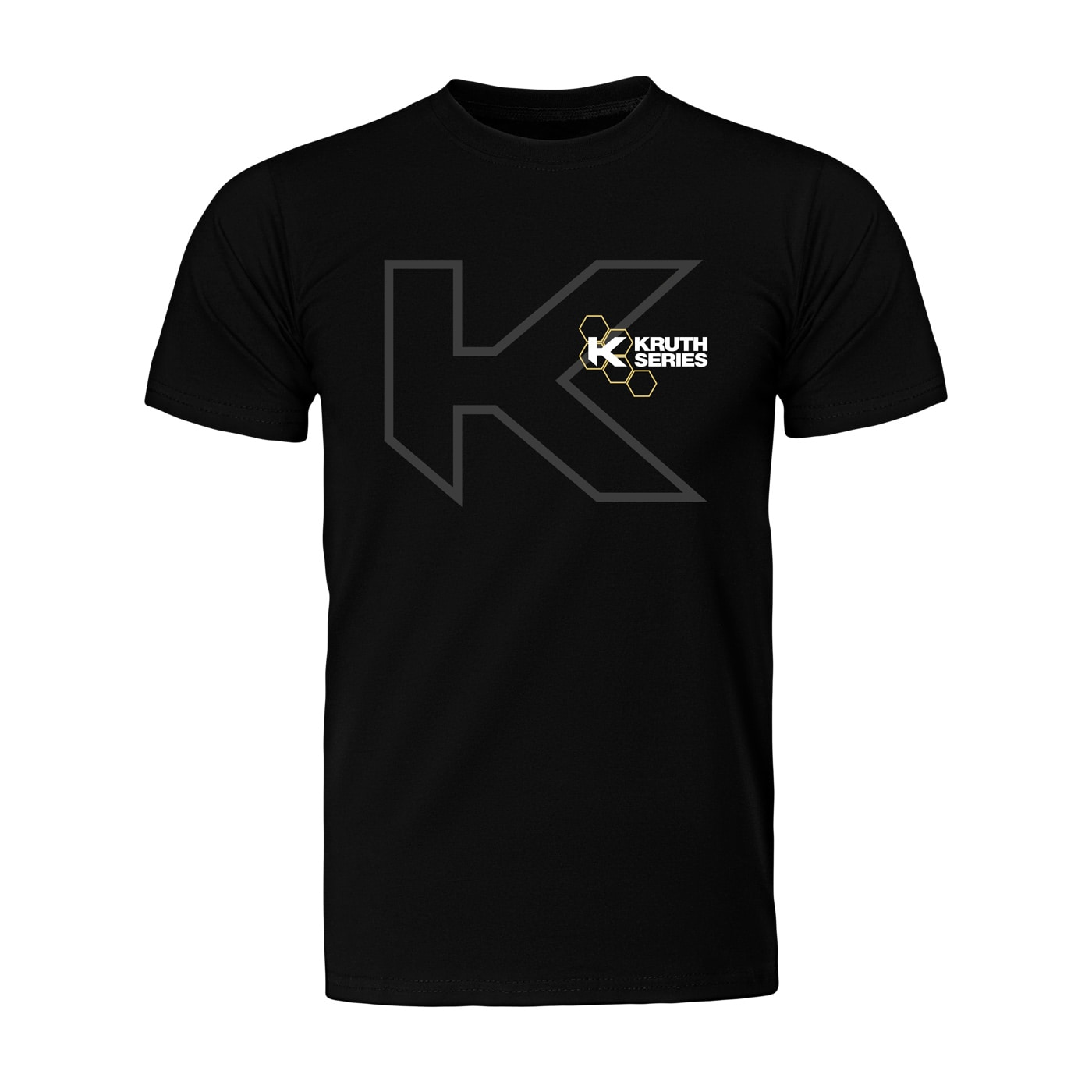 Kruth Series - Big K T-shirt Svart