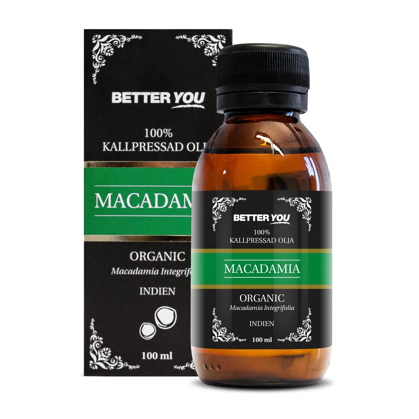 Macadamiaolja EKO - Kallpressad