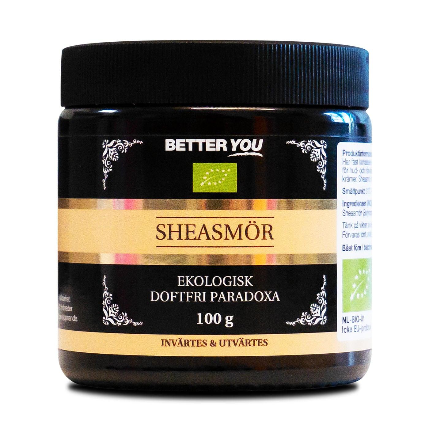 Ekologiskt Sheasmör - 100 g
