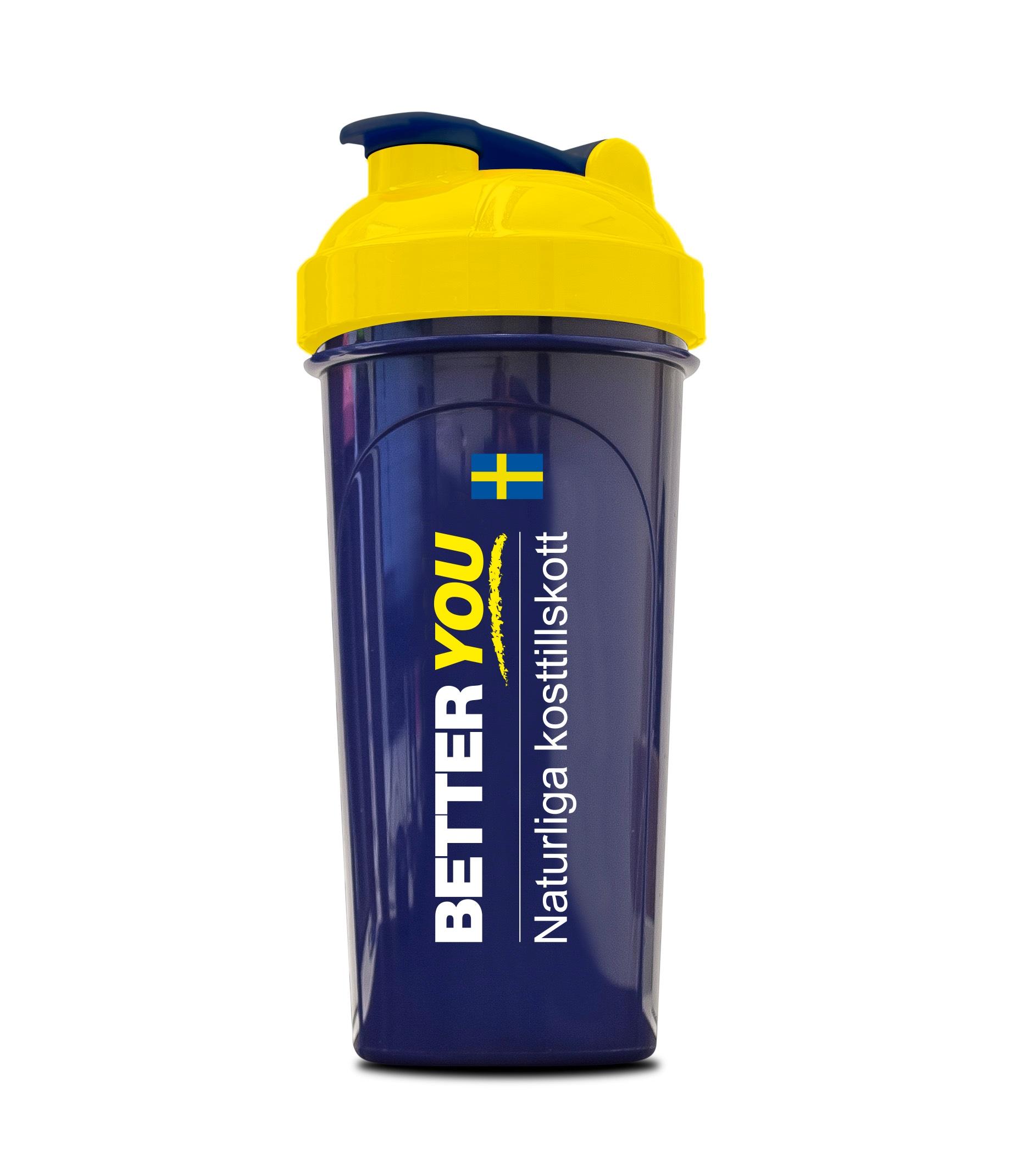 Better You Shaker 700ml - Marinblå