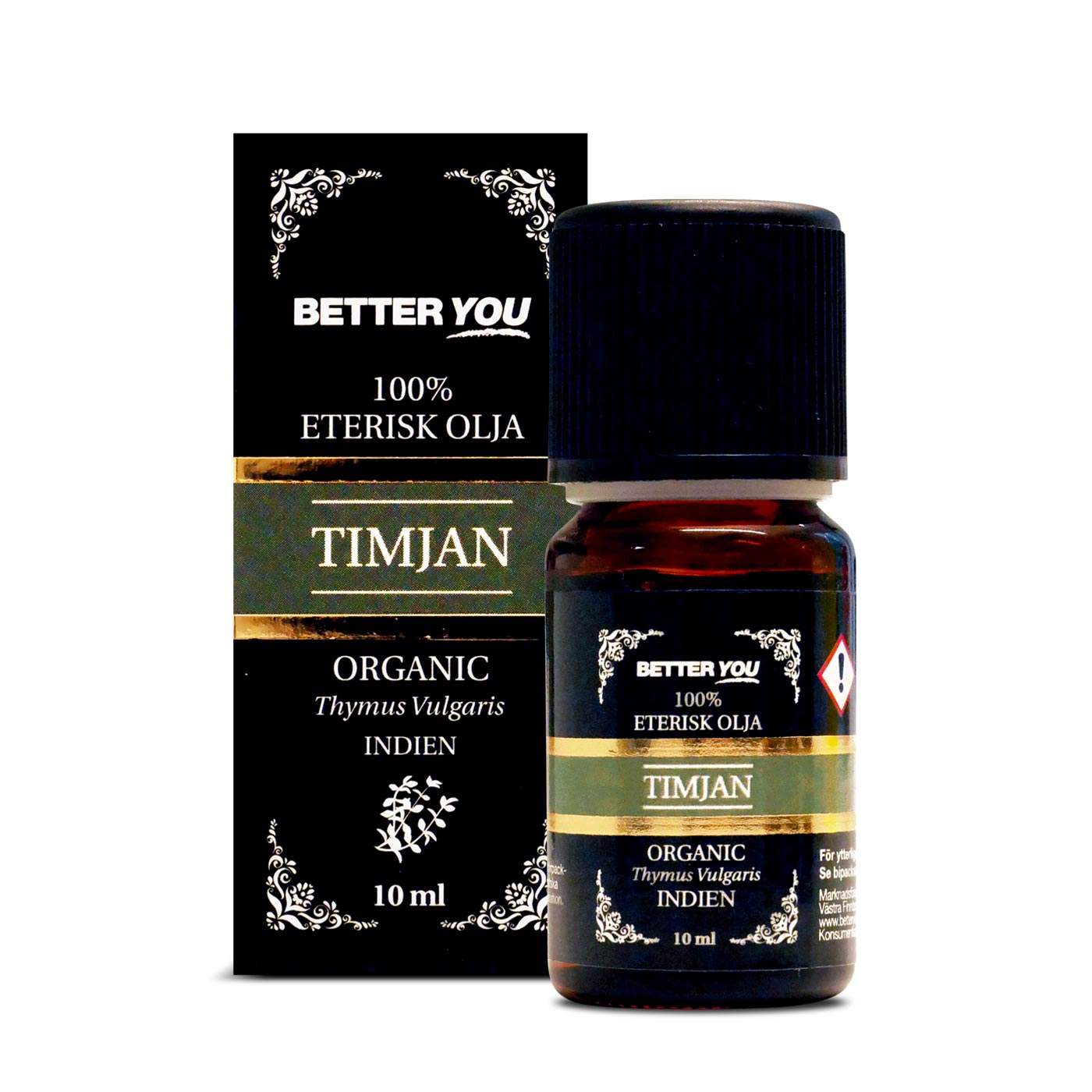 Timjanolja EKO Eterisk - 10 ml