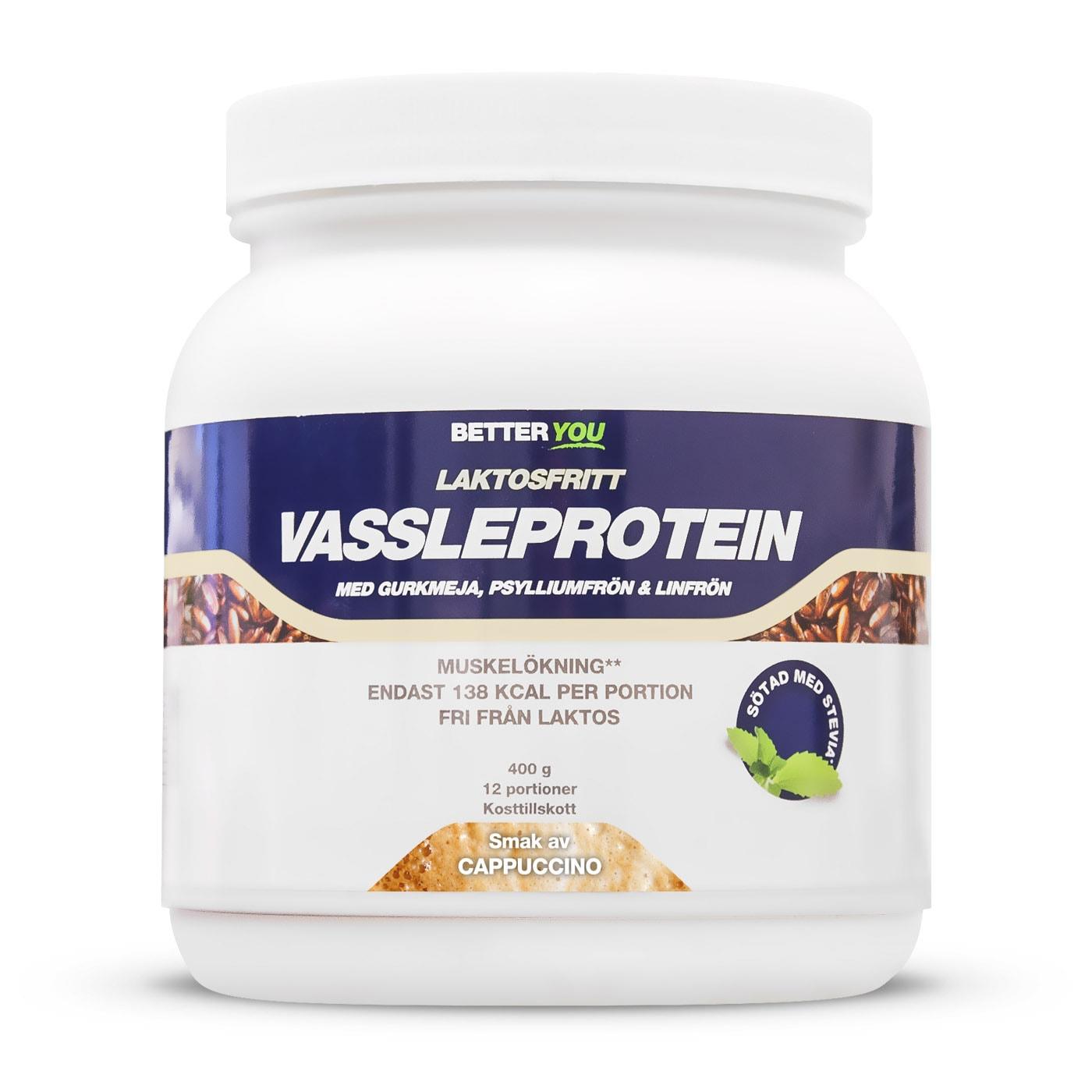 Laktosfritt vassleprotein