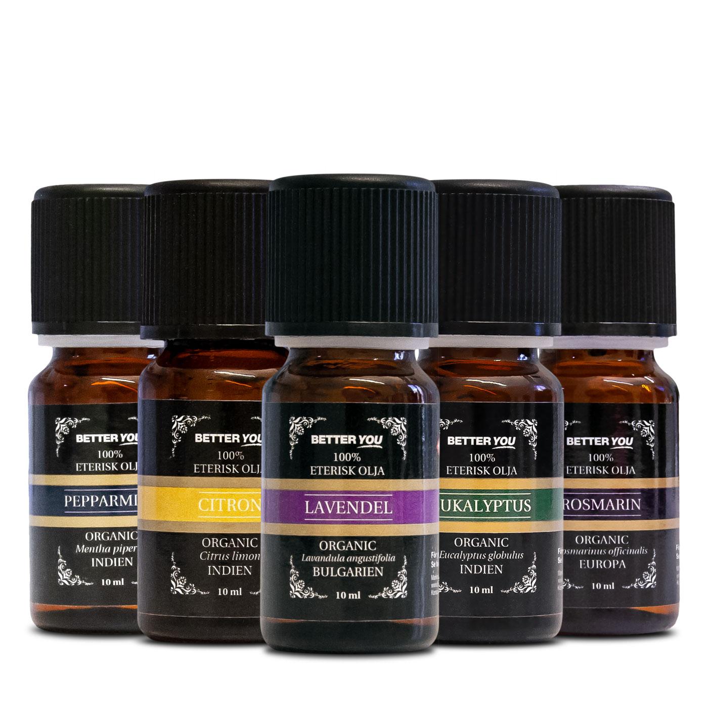 Aromaterapi paket - Oljor
