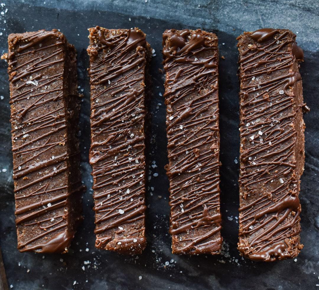 Proteinbars med choklad