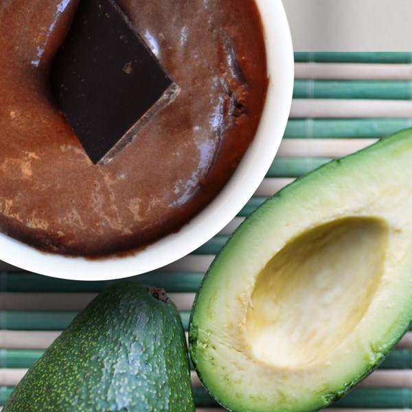 Choklad-Avocadomousse