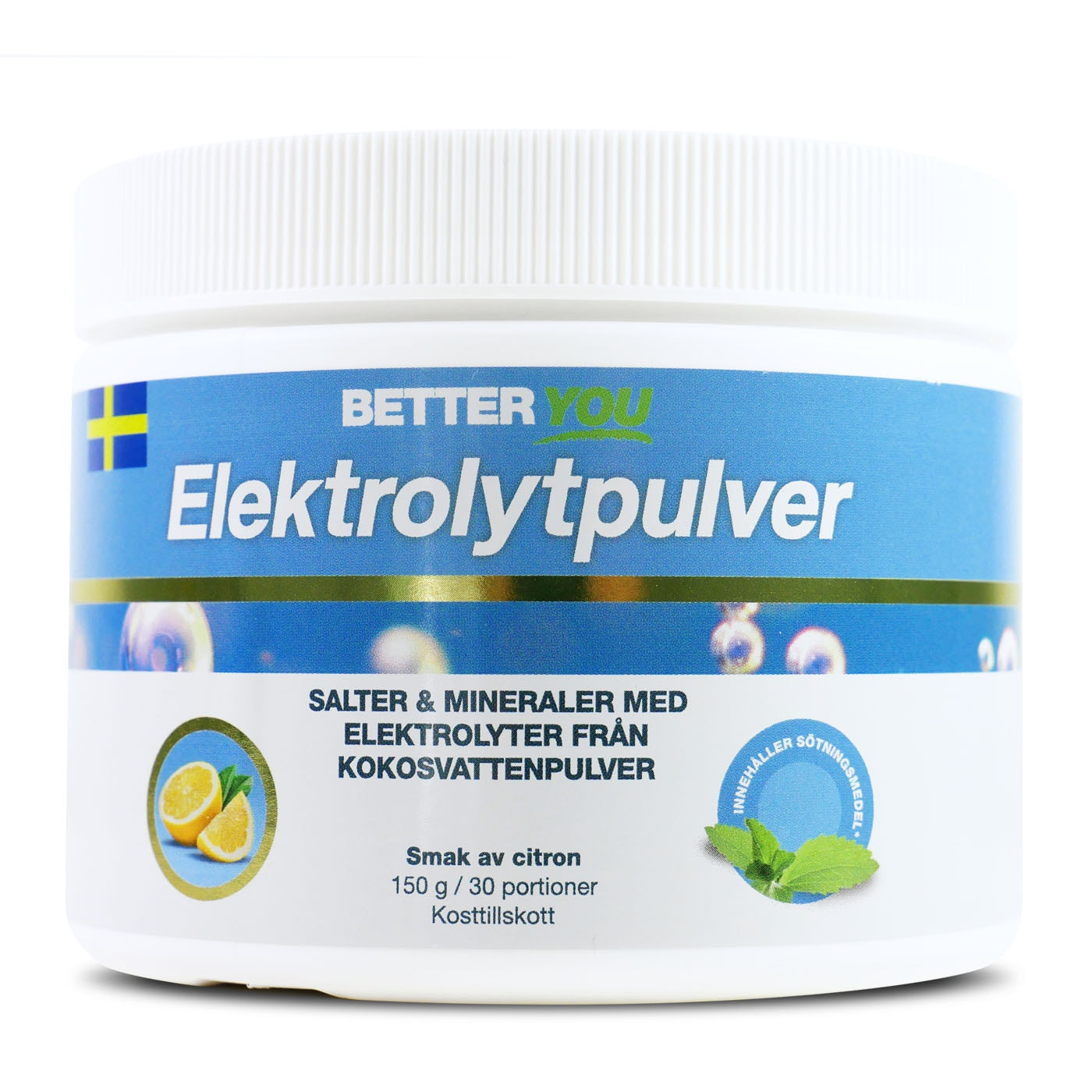 Elektrolytpulver 150 g - Citron
