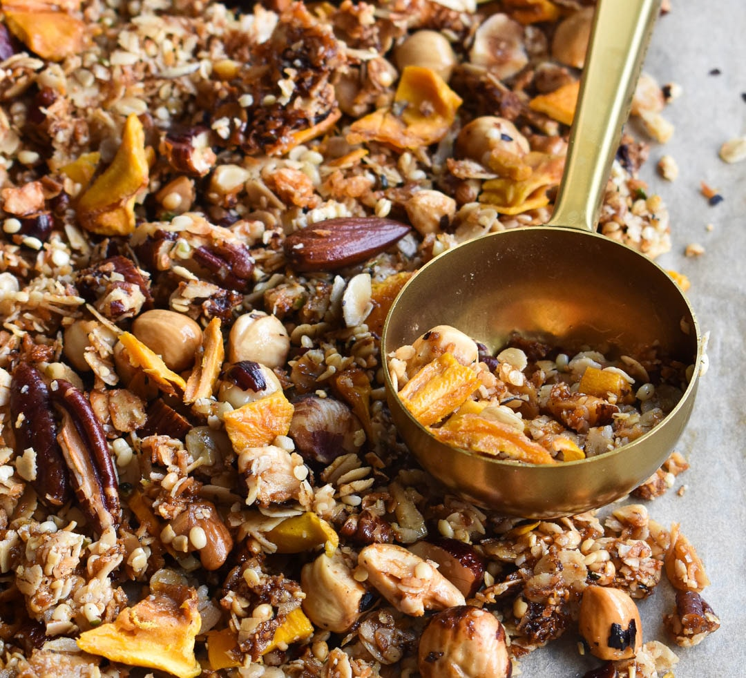 Tropisk granola